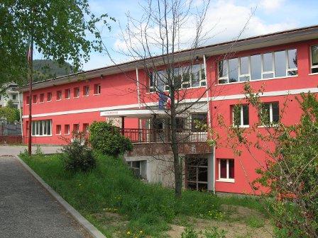 Vista dell'edificio scolastico
