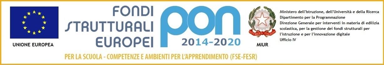Banner  PON FSE 2014-2020