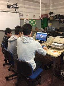 I tre alunni al lavoro