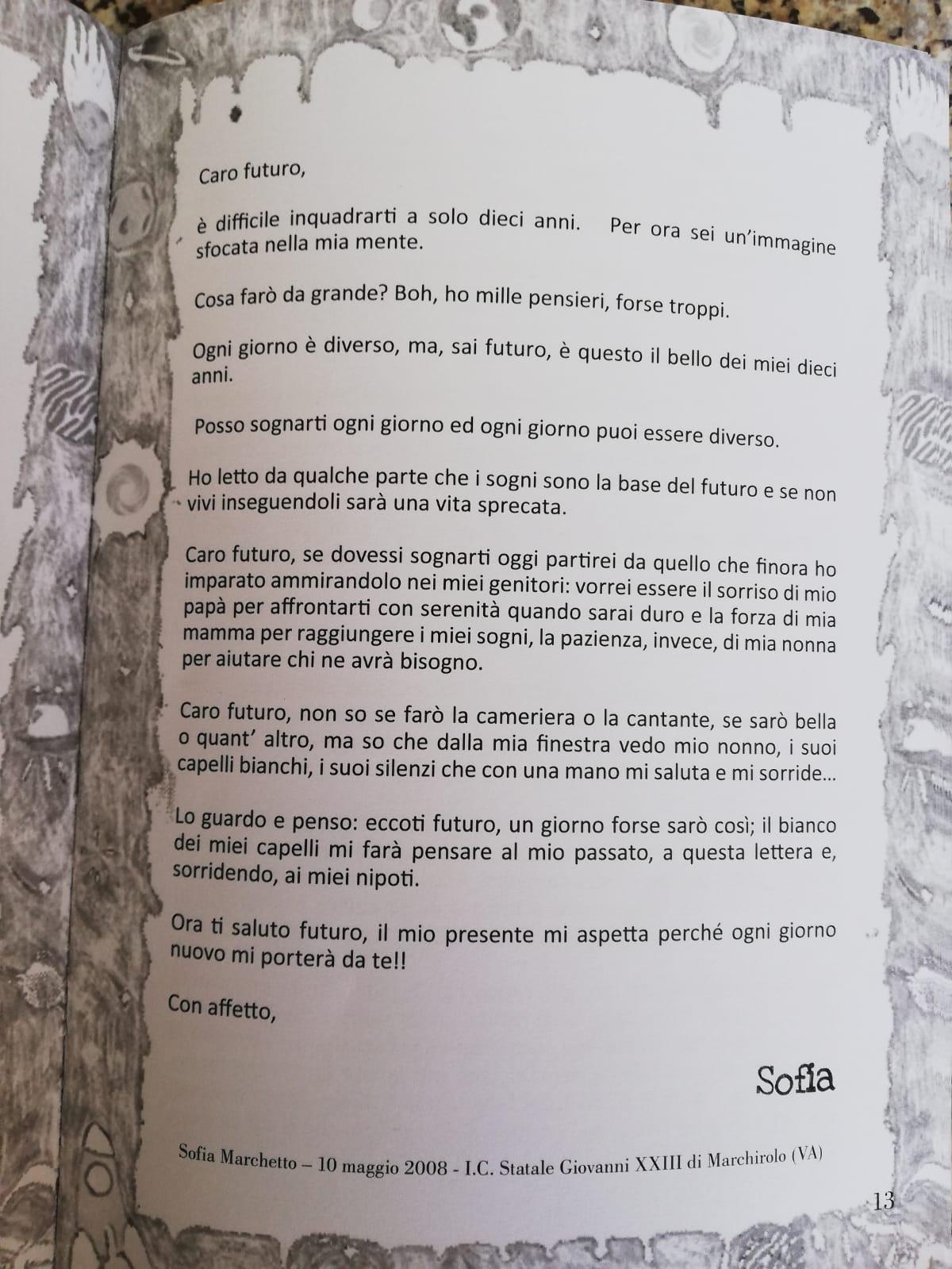 lettera premio letterario la rondine 18-19