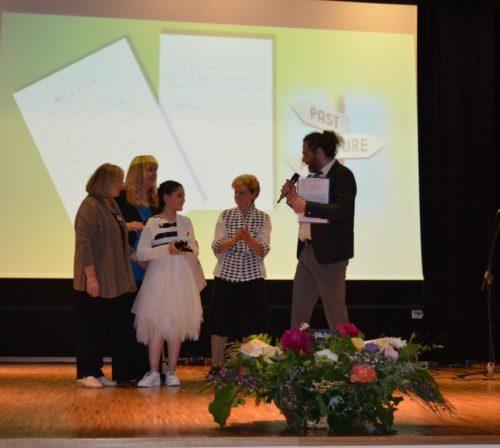 """alunna prima classificata nella categoria """"Rondinotti"""""""