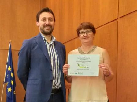 premiazione Green School Primaria Cadegliano 18-19