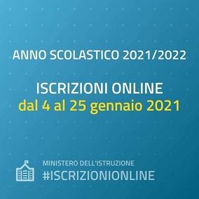 Infografica per le iscrizioni on line 20-21